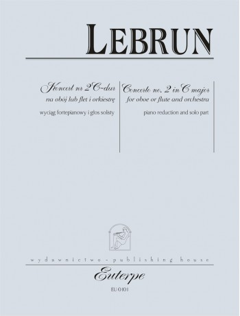 LEBRUN, August - Oboe (Flute) Concerto No. 2 in C major